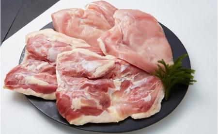 地鶏の銀山赤どり精肉(まるごと2羽分)  イメージ