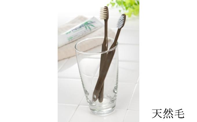 竹の歯ブラシ【天然毛 】6本セット イメージ