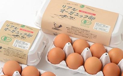 リアルオーガニック卵の定期便 30個×12回 イメージ