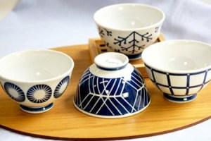 【波佐見焼】【浜陶】EVOTRA ご飯茶碗 4枚セット