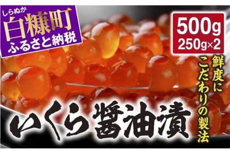 いくら醤油漬(鱒卵)【500g(250g×2)】 イメージ