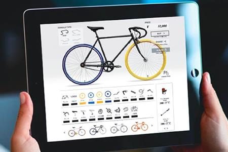 10兆×10億通りから世界に1台のオリジナル自転車をCocci Pedaleで作ろう イメージ