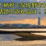 【2021年最新】ふるさと納税で泉佐野市が復活!話題の返礼品は!?