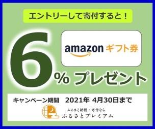 ふるプレAmazon6%キャンペーン