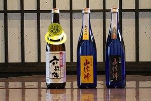 六歌仙酒造「大吟醸 山法師」「純米吟醸 山法師」「五段仕込 六歌仙」720ml 3本セット