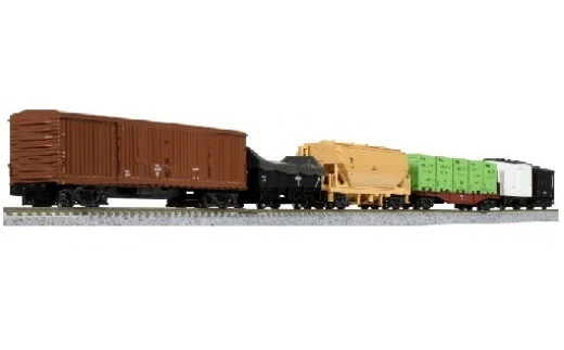 Nゲージ 昭和の日本の物流を支えたEF13+貨物列車展示セット イメージ