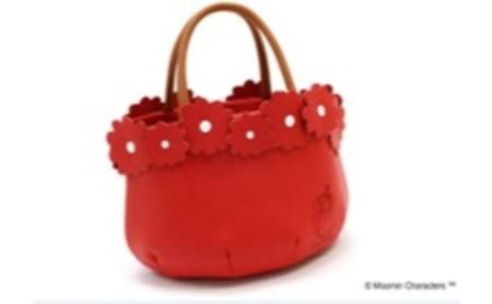 ムーミンレディースハンドバッグ(レッド) イメージ