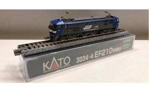Nゲージ[ハイパワー&ハイスピードのハイテク電気機関車EF210桃太郎展示セット]