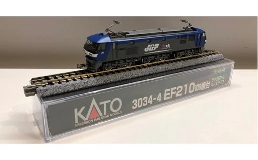 Nゲージ[ハイパワー&ハイスピードのハイテク電気機関車EF210桃太郎展示セット] イメージ