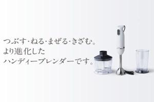 【第6位】チョッパー付ハンディーブレンダー(KC-4833W)