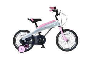 メルセデス・ベンツ 16型子供用自転車 MB‐16 色:ライトピンク
