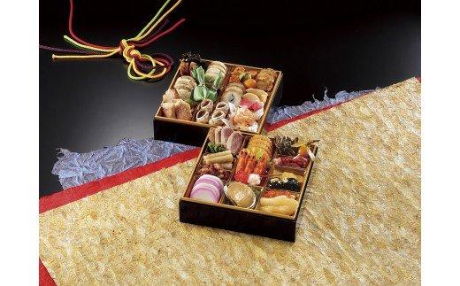 金三 こだわりおせち(2段)+希少部位3種肉おせち イメージ