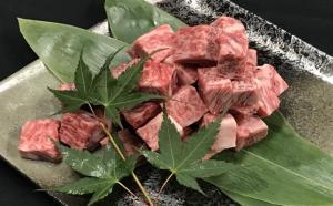 鹿児島県産黒毛和牛サイコロステーキ