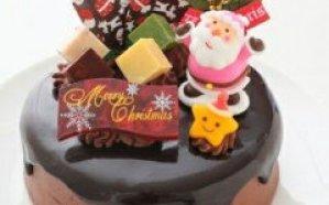クリスマスチョコケーキ 5号ホール型