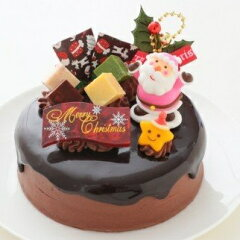 クリスマスチョコケーキ 5号ホール型 イメージ