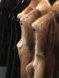 Muskrat Fur Vests