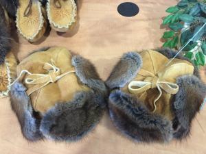 Muskrat-fur-hats