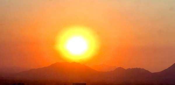 Las Vegas, NV beautiful setting sun