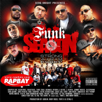 "Serg Knight Presents - Funk Season (2009) ..... Featured on ""Block Monsta"" ..... Production on ""If Its funky"" feat. Tito B & Tokztero"