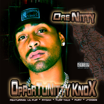 "Dre Nitty - Opportunity knockz (2009) ..... Featured on ""Stomp"" .....  Production on ""Hood Bizness"" ..... Production on ""Pray For Me"" ..... Production on ""Consience Talking"""