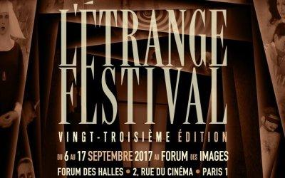 Programme de L'étrange Festival 2017