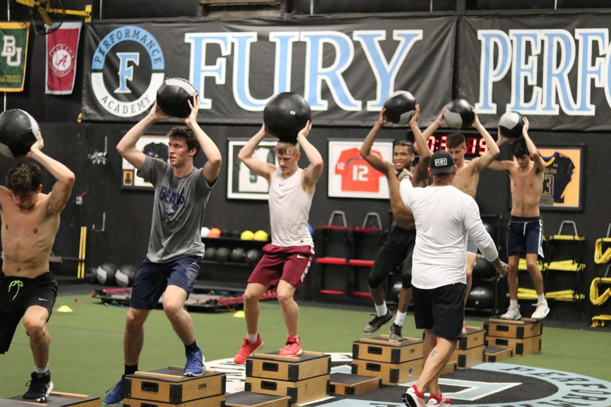 Lacrosse specific training, Fury Performance Academy