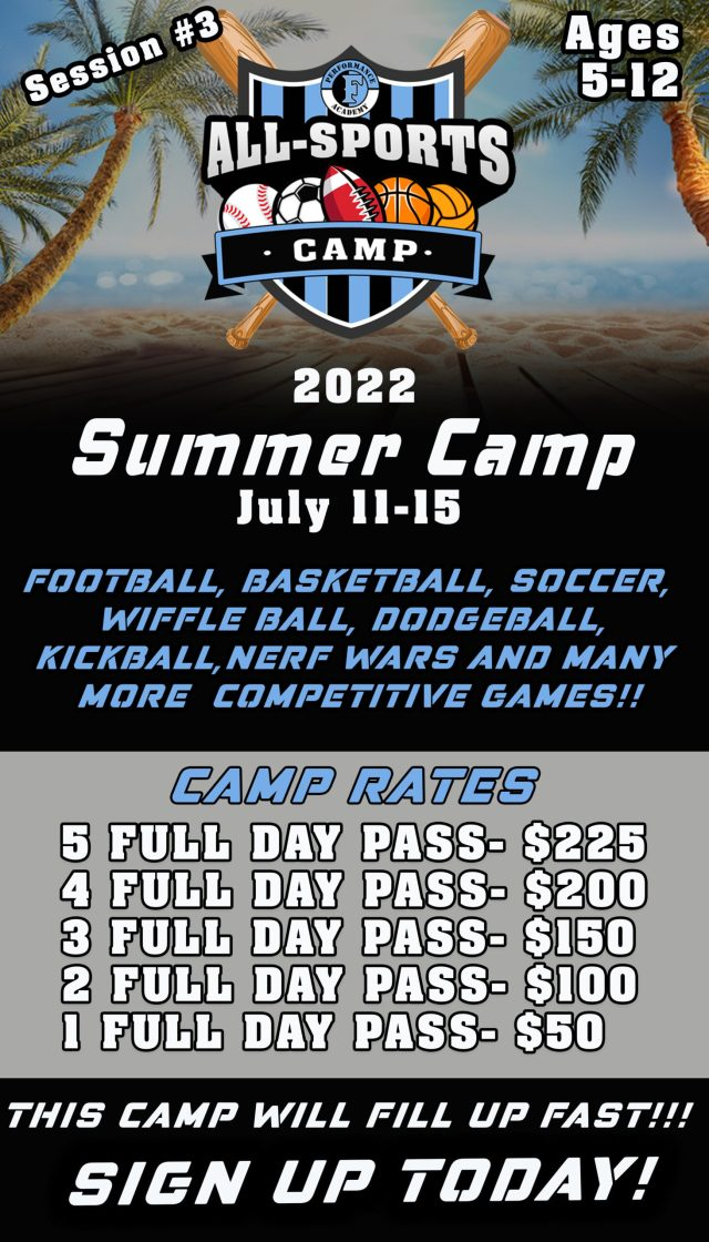 All Sports Camp, Fury Performance Academy
