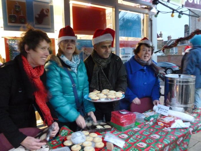 Sadiq at Christmas market 2014