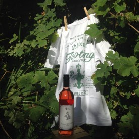 Urban Wine bottle and t-shirt and Unwined Wine Tasting evening