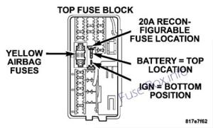 Fuse Box Diagram > Chrysler Aspen (20042009)