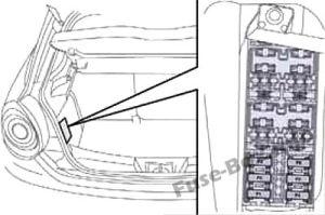 Fuse Box Diagram > Alfa Romeo MiTo (20142018)
