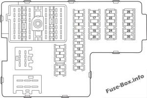 Fuse Box Diagram > Ford Explorer (20022005)