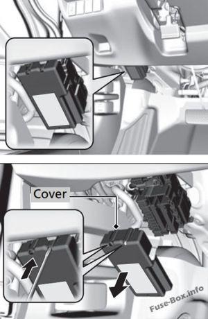 Fuse Box Diagram > Honda Fit (GK; 20152019)