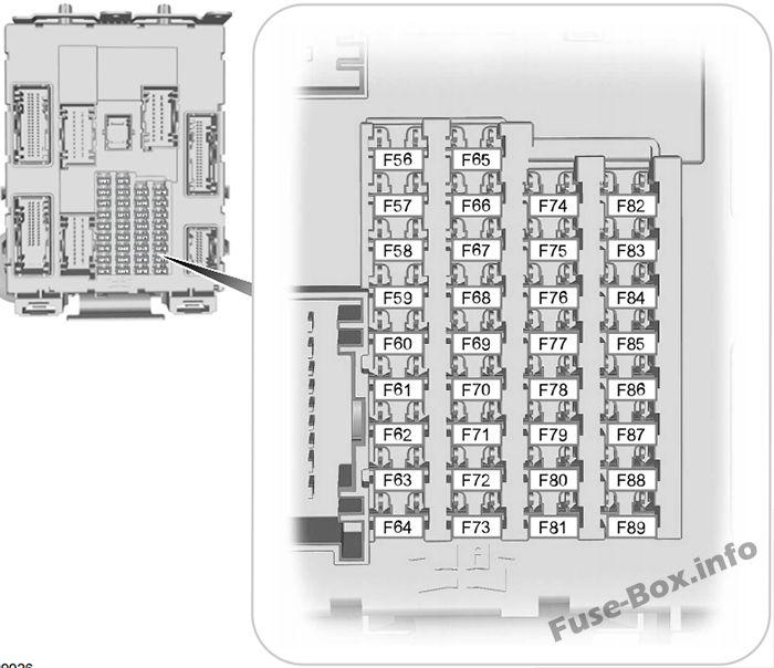 fuse box diagram ford focus 2015 2018