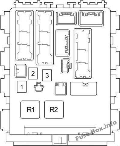 fuse box diagram toyota hiace h200 20142018