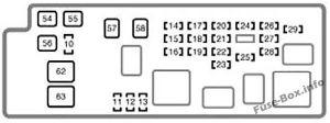 Fuse Box Diagram > Toyota Tundra (20042006)