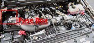 Fuse Box Diagram > Ford F250F350F450F550 (20172019)