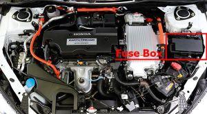 Fuse Box Diagram > Honda Accord Hybrid (20132017)