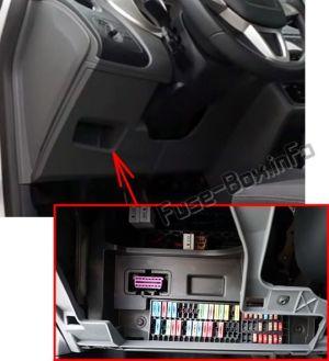 Fuse Box Diagram > SEAT Ia (Mk46J; 20082015)