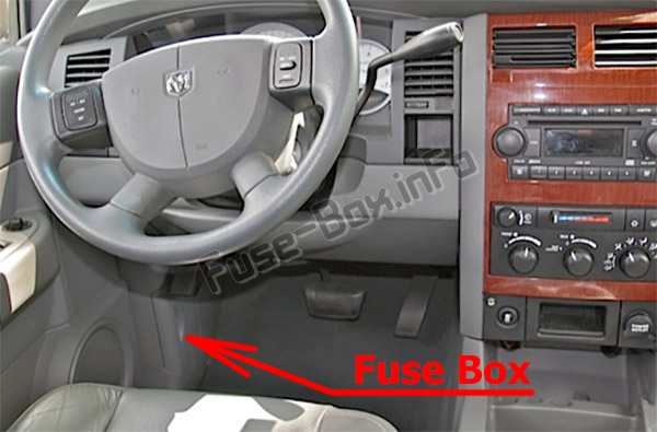2005 Dodge Durango Fuse Box Diagram