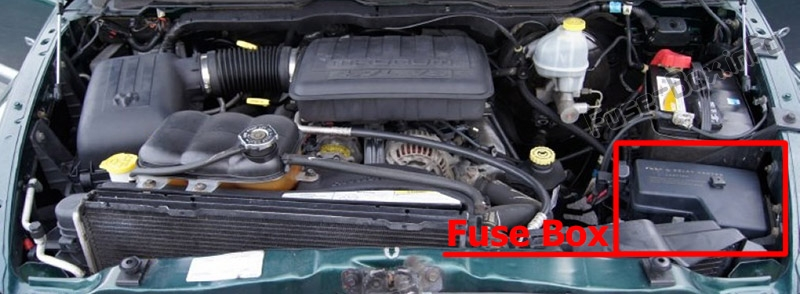 1500 Dodge Ram Box Location 47l Fuse 2006