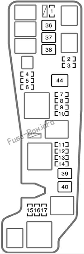 2005 toyota corolla le fuse box  center wiring diagram arch