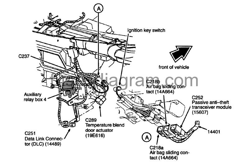 relay box diagram ford f150 1997 2003