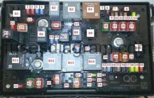 Fuse box OpelVauxhall Astra J