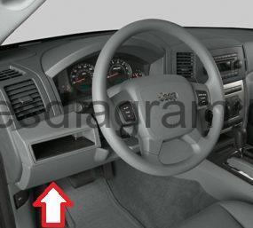Fuse box Jeep Grand Cherokee 20052011