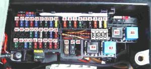 Fuse box Mercedes W168