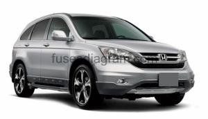 Fuse box diagram Honda Stream