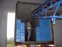 Loading pvc ceilings
