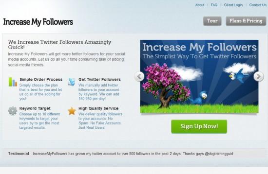 increase my followers