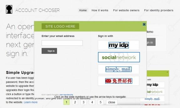 Account Chooser